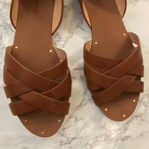 Madewell Shoes - Madewell Donovan Leather Sandals Size 7.5